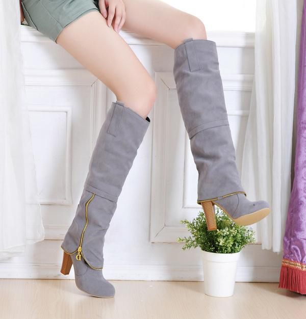 15 Must-see Women's Knee High Boots Pins | Brown knee high boots ...