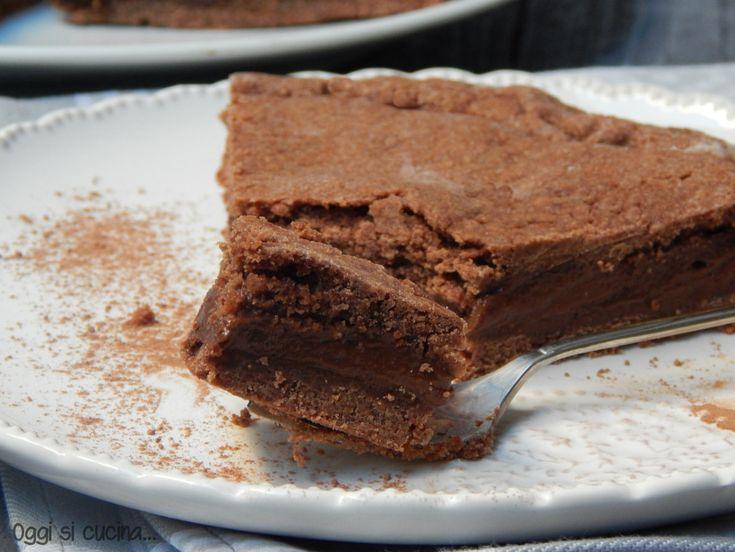 Crostata con crema al cioccolato e caffè http://blog.giallozafferano.it/oggisicucina/crostata-crema-cioccolato-caffe/