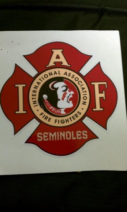 FSU IAFF decal | Noles | Pinterest | Decals and Mike d'antoni