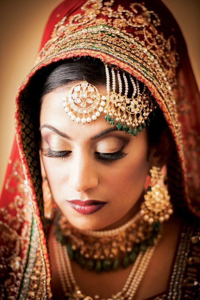 wedding daytime makeup beautifulsouthasianbrides:  MU by:Mehwish Khan