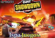 Juego de Dirt Showdow: Participa en una emocionante carrera en la cual deberas de demostrar todas tus capacidades como conductor, debes de adelantar a todos tus adversarios y mantenerte en el primero puesto para llegar a la linea de meta, ve ganando todas las carreras y consigue mejoras para tu auto. http://www.ispajuegos.com/jugar6826-Dirt-Showdow.html