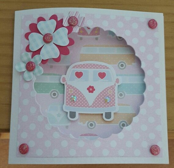 Seaside Summer by Craftwork Cards. Made by Jane Compton
