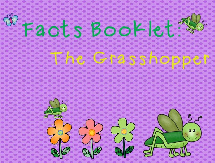 http://www.teacherspayteachers.com/Product/Grasshopper-Facts-Booklet-1299983