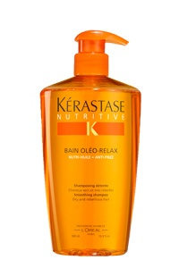 Kerastase Serum Oleo-Relax- just a dab makes your hair soft, shiny, and smell great! This stuff is like liquid gold for your hair!