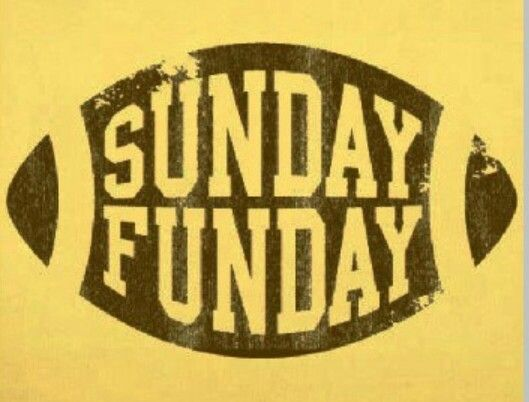 Sunday funday                                                       …