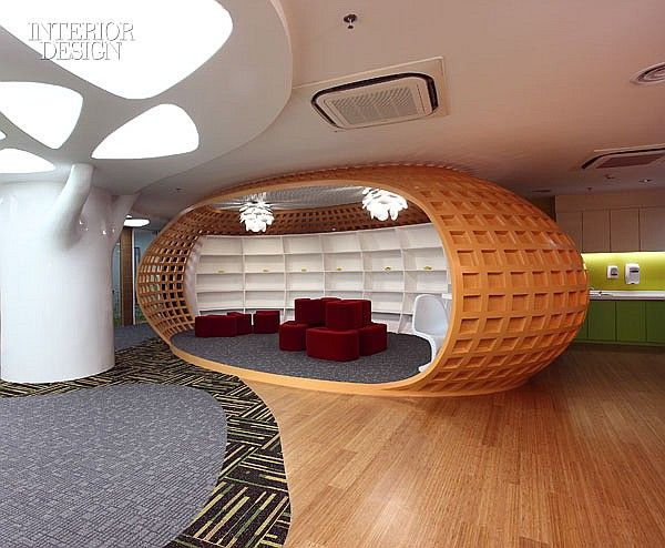 Interior Design Magazine EDG China Corporations Tencent Headquarters In Shenzhen By Creatives
