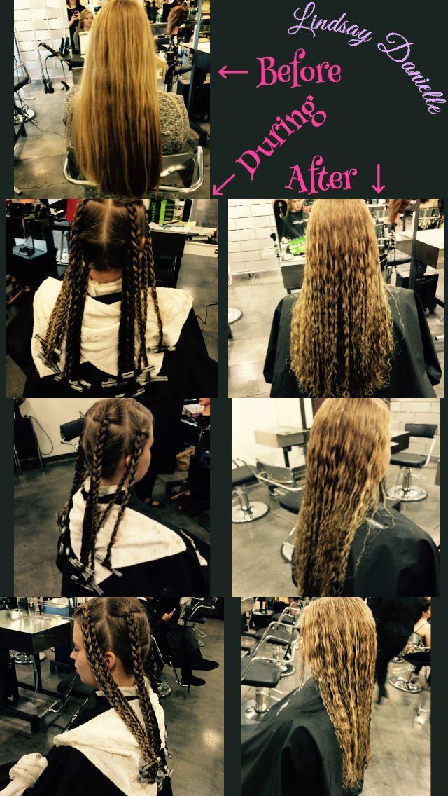 how to create beach wave hair