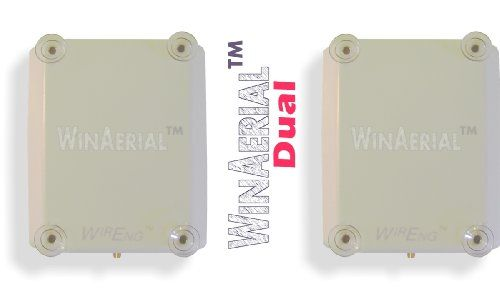 WinAerial™ Ultra Wide Band Personal 3G & 4G On-Window Dual Antenna for Sierra Wireless Telstra Ultimate (AC312U) No installation required--simply attach it to the inside of any window, connect to your device, and begin using it!. Increases your Sierra Wireless Telstra Ultimate (AC312U) signal strength by as much as 12dB!. Flexible and portable--can be used at home, hotel, dorm, and even inside v... #WirEng® #Wireless