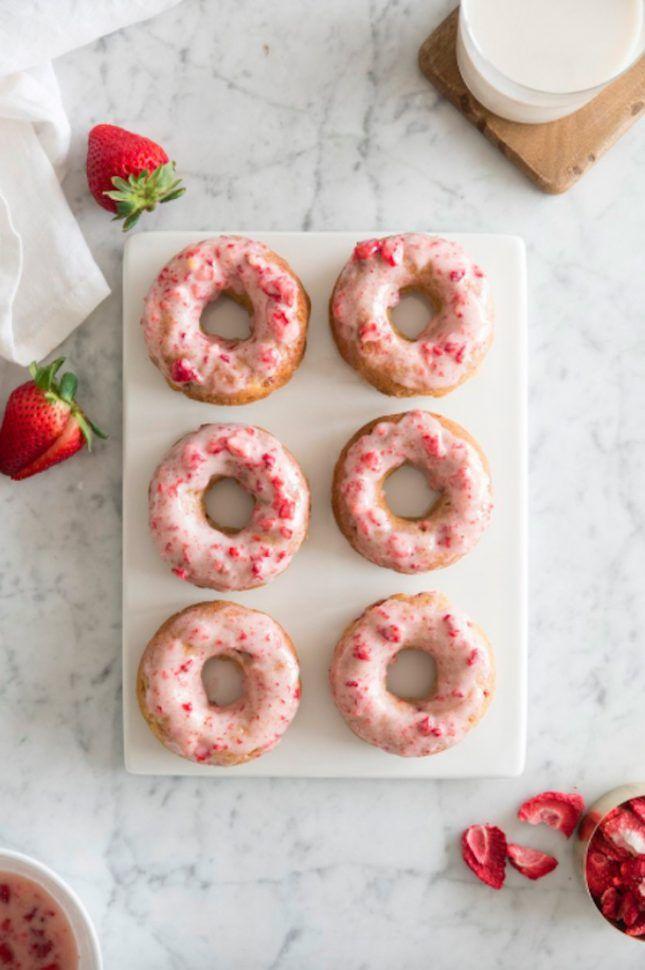 You Must Try Kourtney Kardashians Donut Recipe via Brit + Co