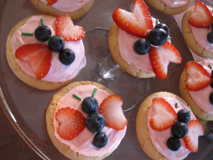 fruit pizza cookies decorations | fruitpizza 001