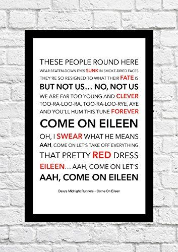 Dexys Midnight Runners // Come On Eileen