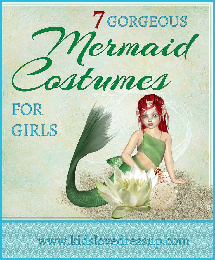Looking for the perfect mermaid costume for girls? Here are 7 of the prettiest and best-rated, most popular mermaid costumes for girls available on the web. Check them out at www.kidslovedressup.com   mermaid outfit girls, girls mermaid costume, mermaid dress up, dress up mermaid girls, girls dress up, dress up clothes for girls, girls costumes, costumes for kids