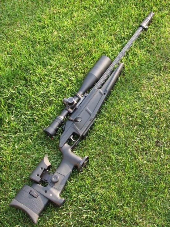 Blaser R93 LRS2 Sniper Rifle.