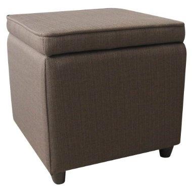 living room storage & seating.