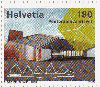 Postzegel, Zwitserland, 2009