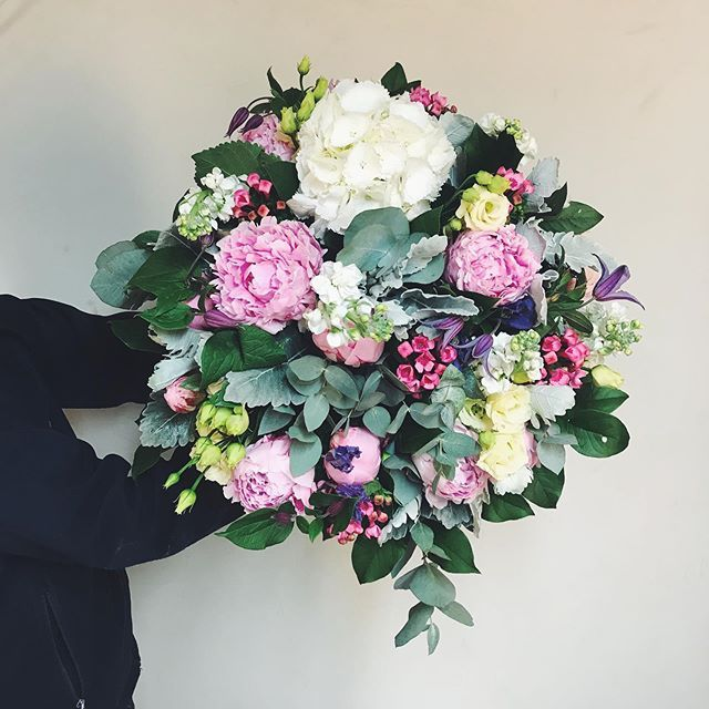 Peonies Are In Season For Such A Short Time That We Have To Include Them In Everything We Can Gardeniaoflondon Wimbledo Peonies Beautiful Bouquet Instagram