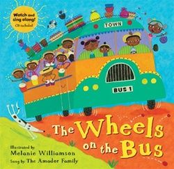 Barefoot Books Wheels on the Bus ~ Paperback with CD, $13.95