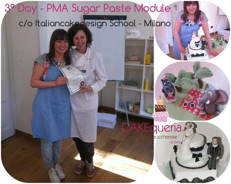 UNA BELLA ESPERIENZA - PME SugarPaste Module - Milano - ItaliancakedesignSchool
