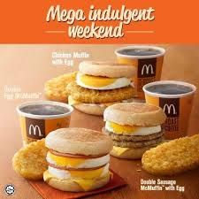In 1975 McDonald's released there first breakfest menu