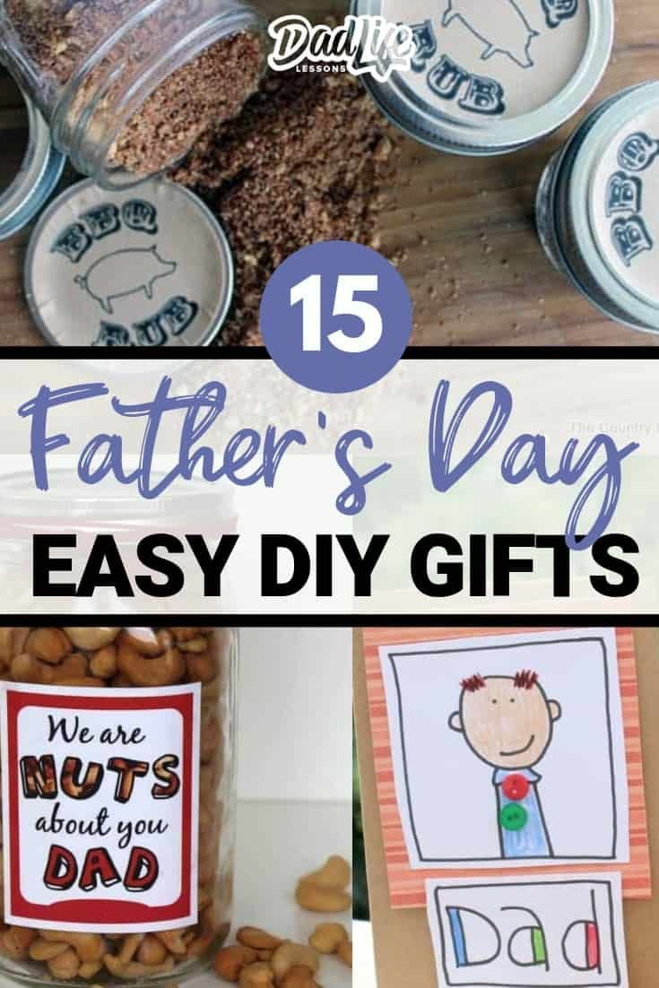 Top 15 Easy DIY Father's Day Gift Ideas