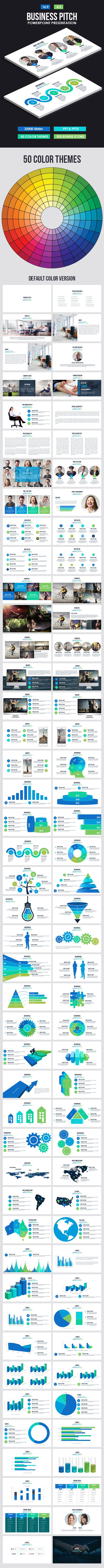 Business Pitch Powerpoint Presentation - Business PowerPoint Templates