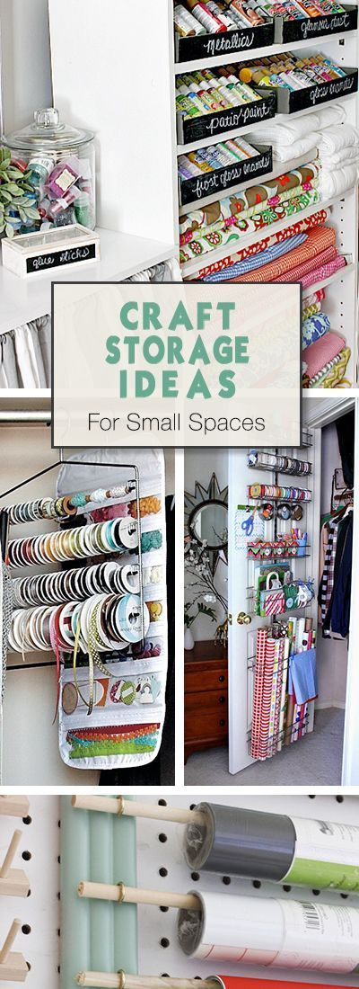 Craft Storage Ideas & Organizing Tips