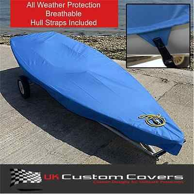 #Laser #dinghy boat tailored #cover - blue - 125,  View more on the LINK: http://www.zeppy.io/product/gb/2/281719557362/