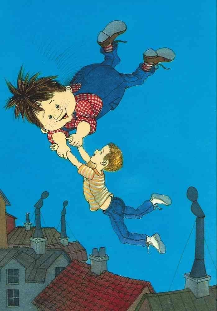 Karlsson Vom Dach Ilon Wikland In 2020 Halloween Illustration Fairytale Illustration Children S Book Illustration