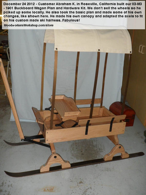 Buckboard wagon kit woodworking projects plans for Covered wagon plans