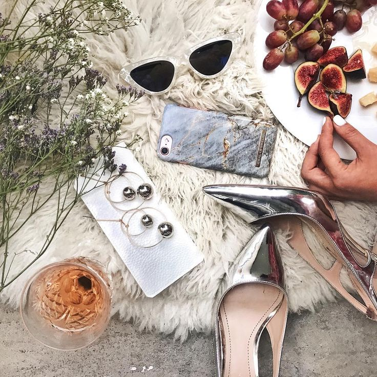 Royal Grey Marble by @sutinee.d - Fashion case, iPhone, accessories, silver, heels, picnic, yummie, inspo