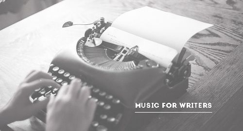 8tracks playlists for writers (photo links to post)