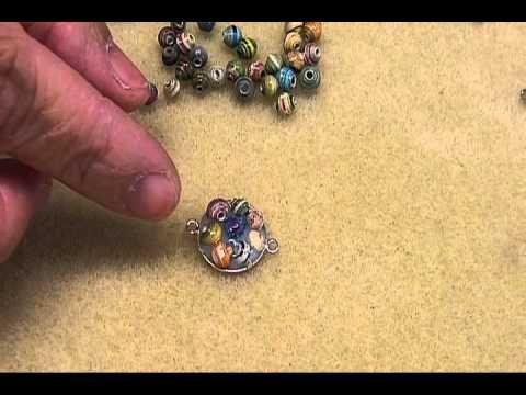 Paper Bead Clusters Bracelet