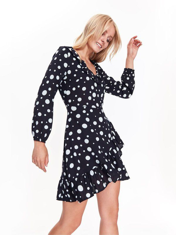 9f5845a067 sukienka damska w groszki