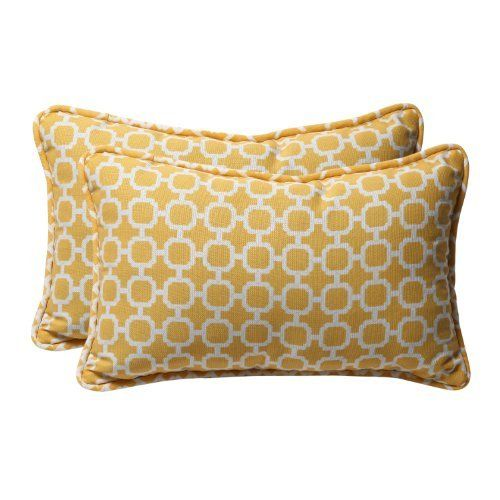 Pillow Perfect Decorative Yellow/White Geometric Rectangle Toss Pillows, 2-Pack by Pillow Perfect, http://www.amazon.com/dp/B006VMYWSC/ref=cm_sw_r_pi_dp_QHypqb1CY31FR