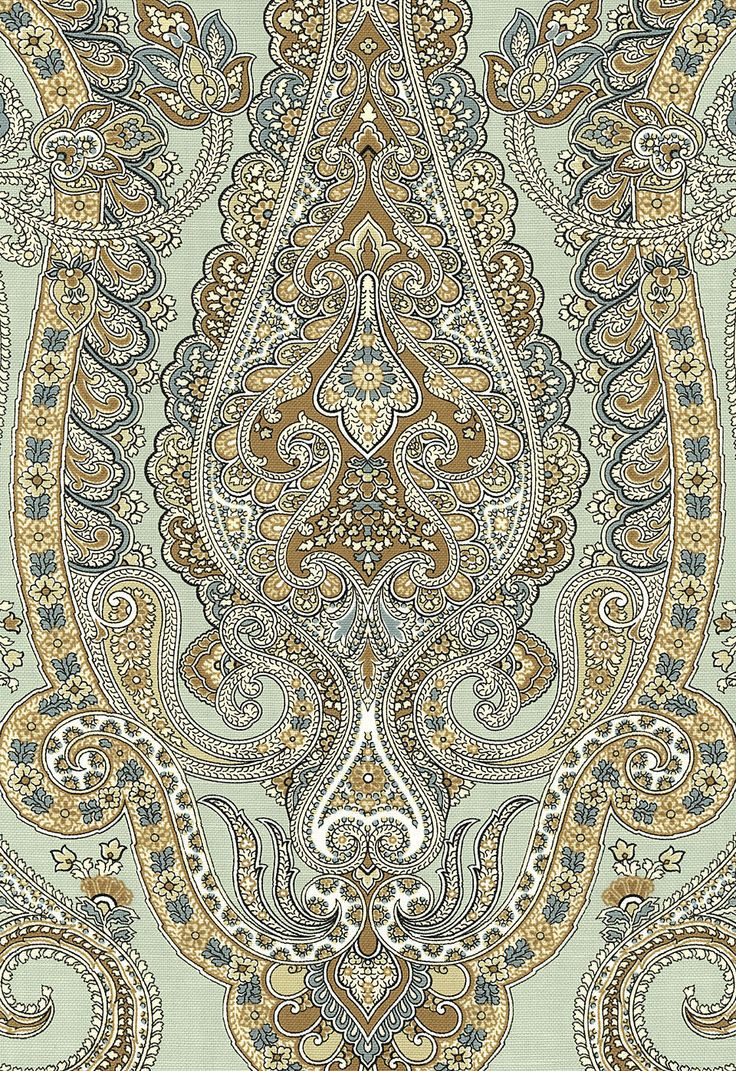 in love with this paper or fabric. Isabella Paisley in Mineral by Schumcher