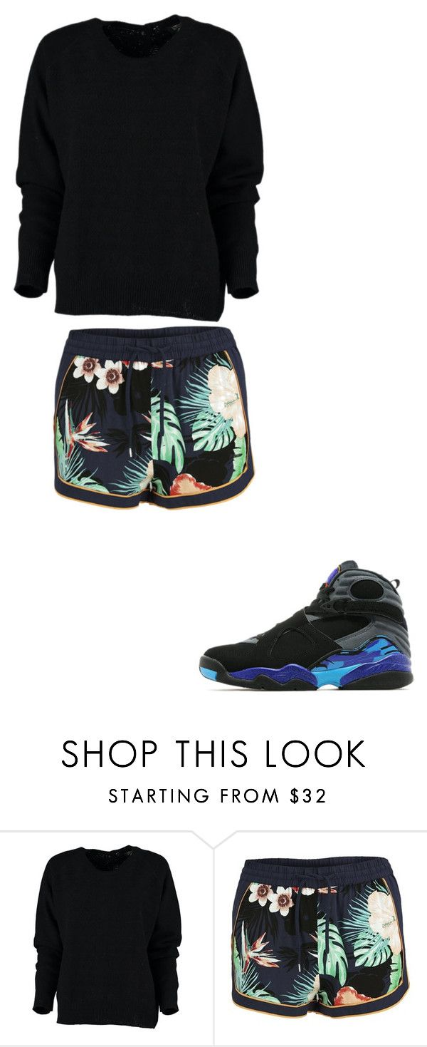 """Chill"" by renee-9392 on Polyvore featuring Vero Moda and Jordan Brand"