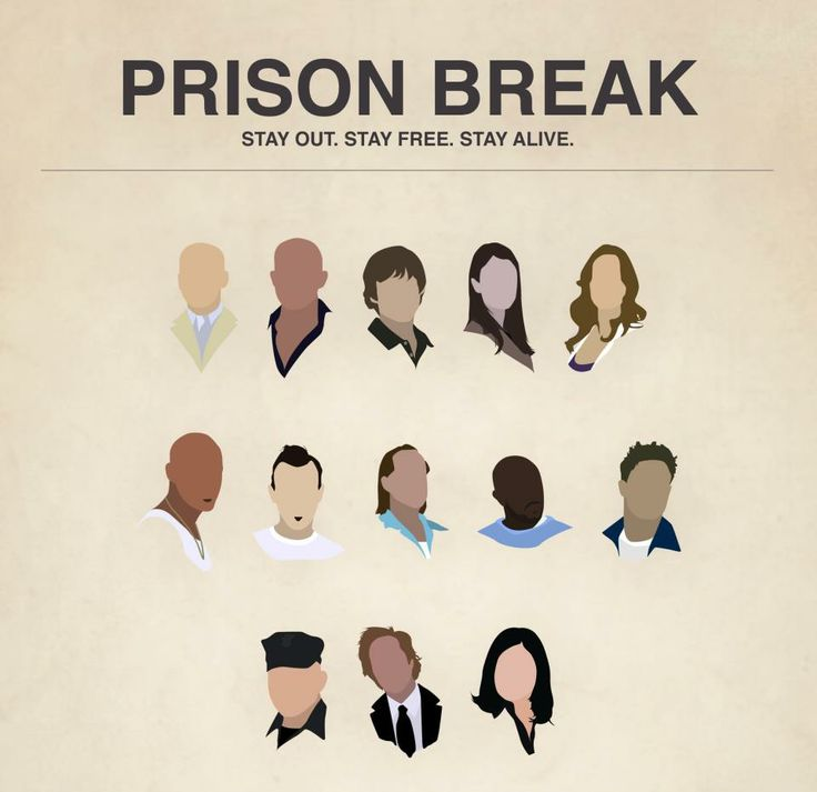 Prison Break! Okay is it sad that I was easily able to name every one in this pic?? :)