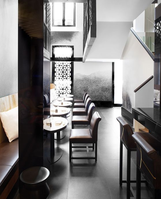 Kinugawa Japanese Restaurant in Paris by Gilles & Boissier