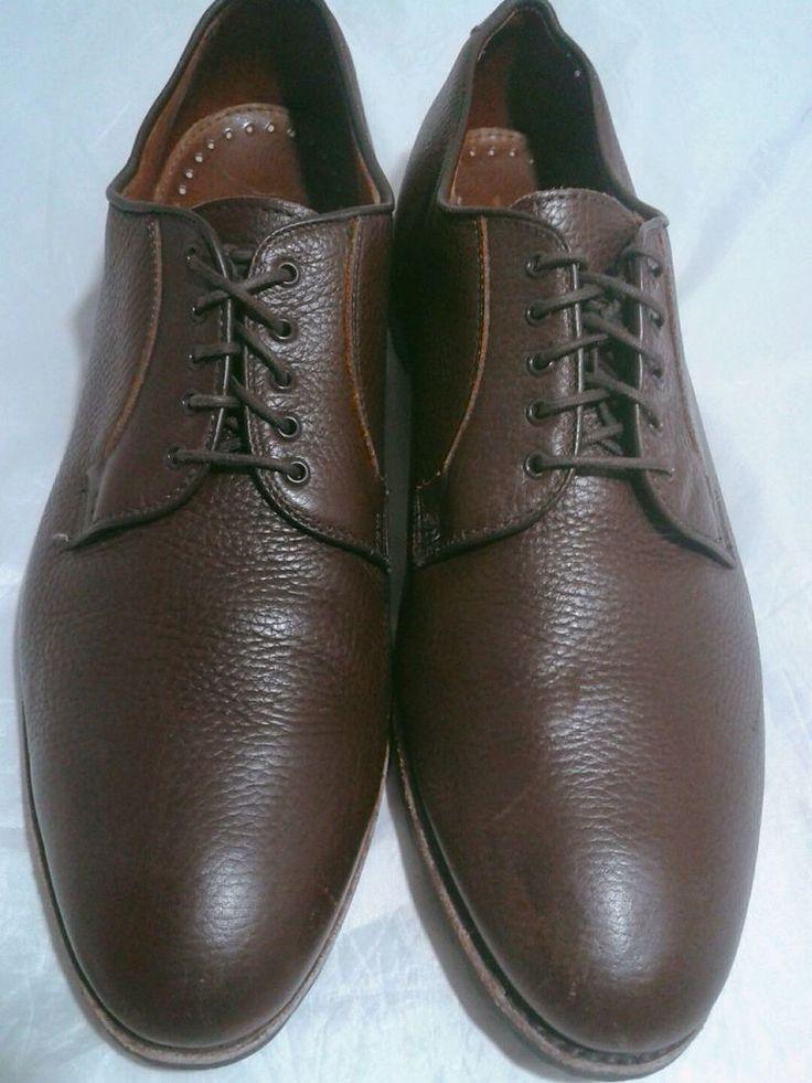 Yale Platinum light brown shoes with plaid Oxford men痵 9.5