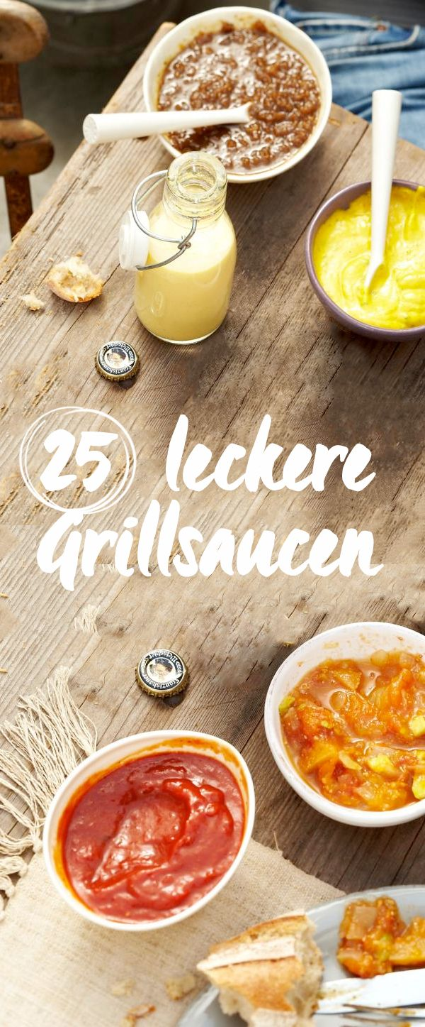Ob Fleisch, Fisch oder Gemüse - zum Grillen gehört die richtige Sauce! Probieren Sie unsere Rezepte für die leckersten Chutneys, Saucen und Salsas zum Grillen.