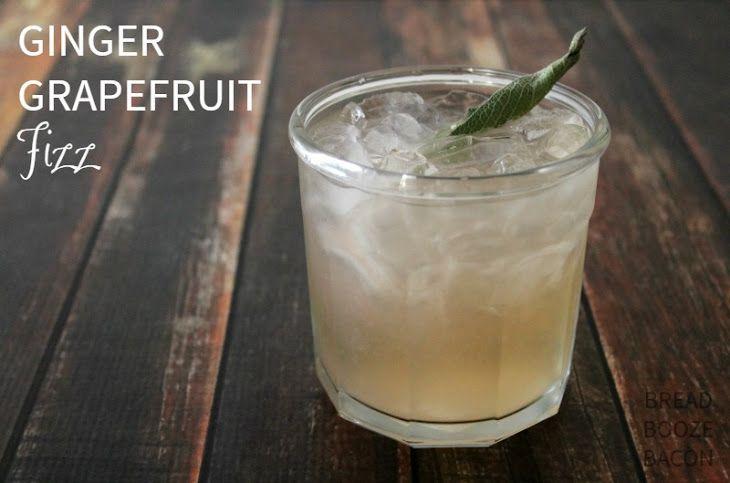 ginger grapefruit fizz recipe i 39 ll drink to that. Black Bedroom Furniture Sets. Home Design Ideas