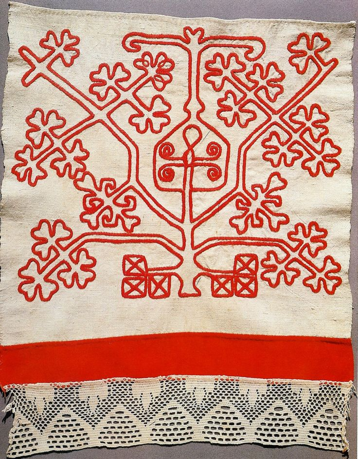 Россия.Конец полотенца.1907