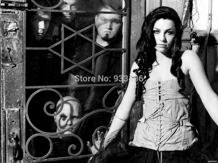 Evanescence Эми ли BW Рок Музыка Искусство Огромный Печати Плаката TXHOME D4909