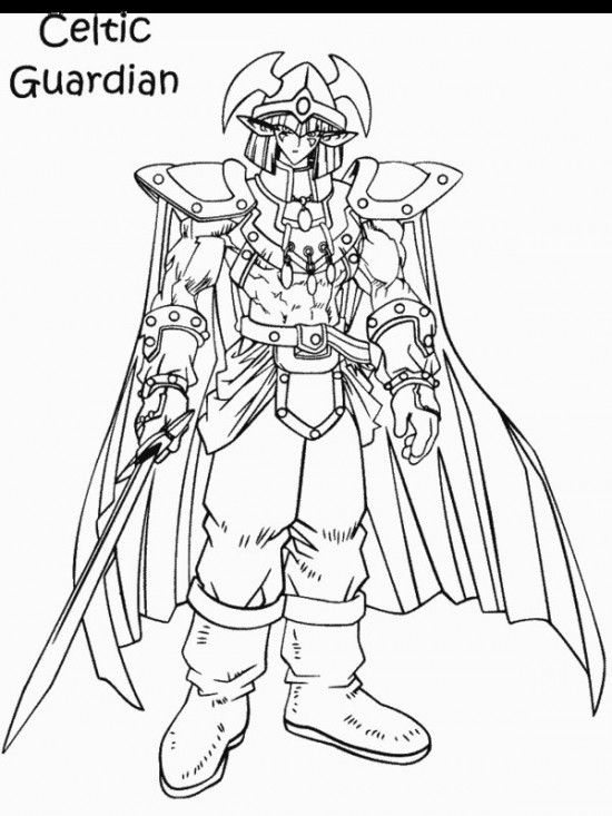 Printable Yugioh Coloring Pages All About Free For Kids