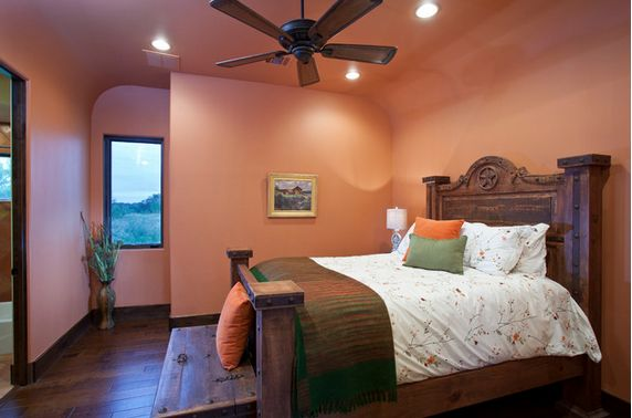 Southwest style starts with Baked Clay SW 6340 by