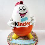 Kinder Surprise Egg Cake
