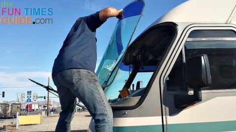 RV Windshield Repair cost vs. Replacement cost - what I learned after my 1993 motorhome got a cracked windshield!