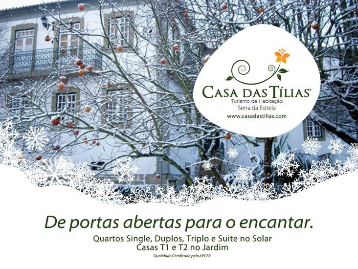 Casa das Tílias - Turismo de Habitação - São Romão - Seia - Serra da Estrela