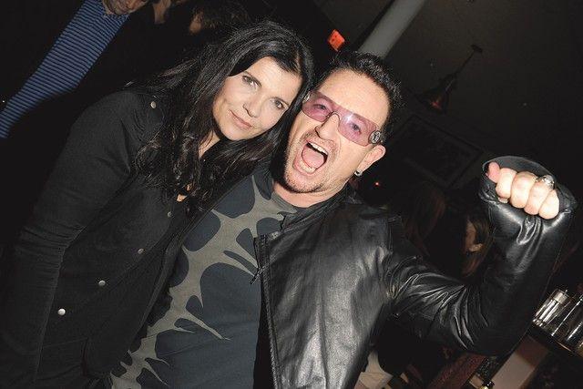 Bono and Ali Hewson at Edun's Fashion Show