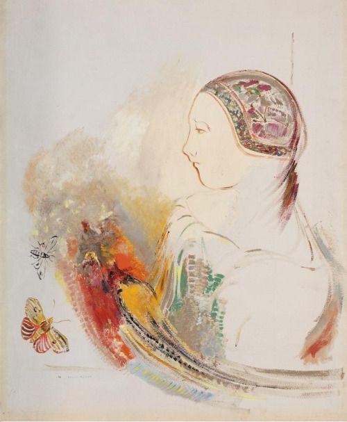 232 best Painting. Odilon Redon images on Pinterest | Odilon redon ...
